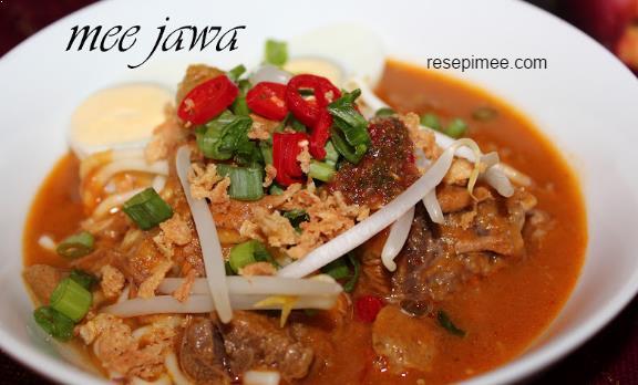 Resepi Mee Jawa