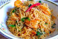Resepi Mee Hoon Goreng