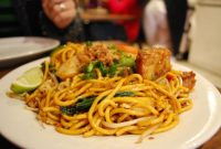 Cara Buat Mee Goreng Basah Chinese Style