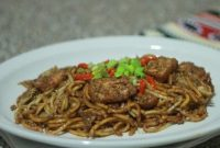 Cara Membuat Mee Goreng Mamak Kuah Kacang