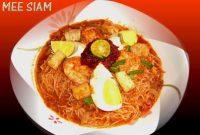 Resepi Mee Siam Berkuah Singapura